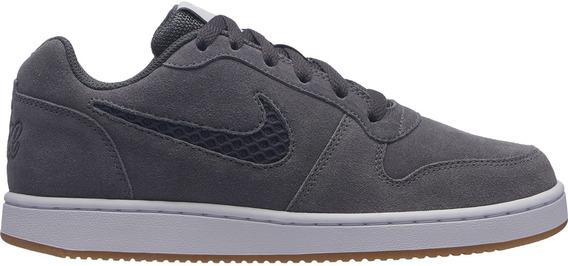 Tenis Nike Ebernon Low Prem Gris Aq2232 001