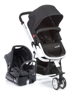 Carrinho De Bebe Mobi Ts Black & White Cax90224 Safety 1st