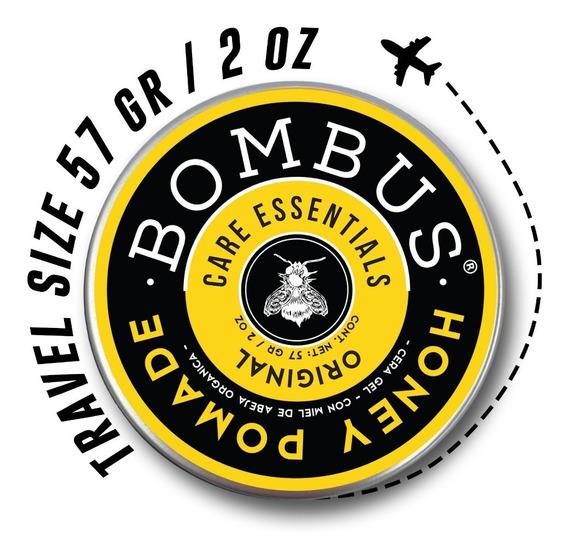 Bombus® Original Honey Pomade Cera-gel Para Cabello (57 Gr)