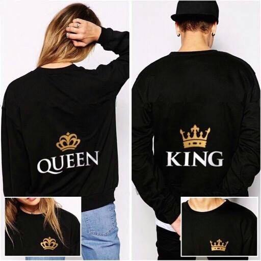 Polerones Familia King Y Queen