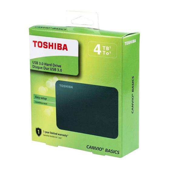 Disco Duro Externo 4tb Toshiba Original 3.0 Canvio