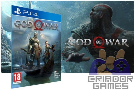 God Of War 4 Ps4 Mídia Digital Primária Português