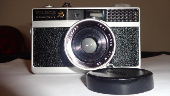 Maquina Fotografica Fugica Modelo Compact S - Ler Descrição