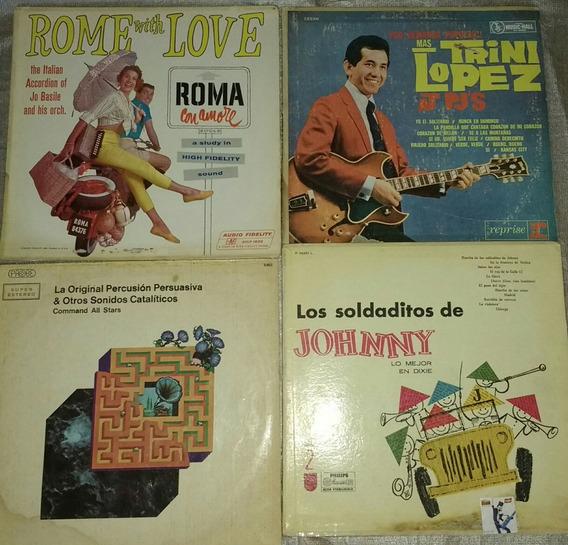 Lote De 10 Discos De Vinilo De Los