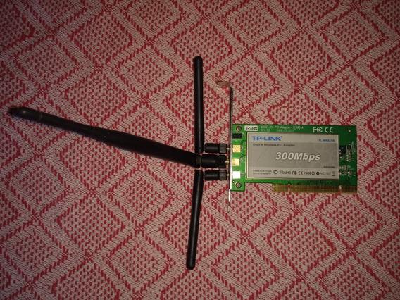 Placa De Rede Pci Tl 951n 300mb/s 3 Antenas