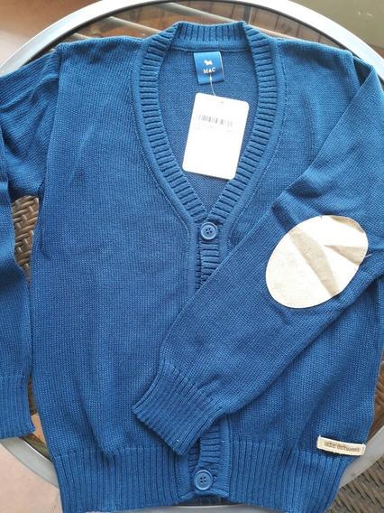 Cardigan Azul Niño T.8