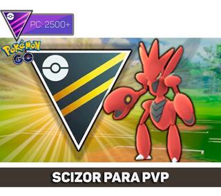Scizor Para Pvp En Pokemon Go! (por Intercambio)