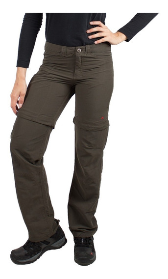Pantalon Mujer Sabbana Base Montagne Secado Rapido Trecking
