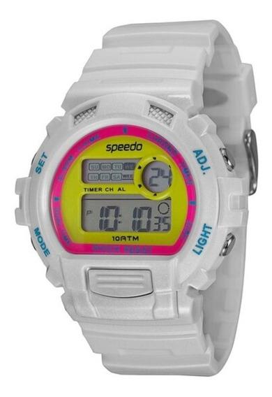Relógio Feminino Digital Speedo 65083l0evnp5 - Branco