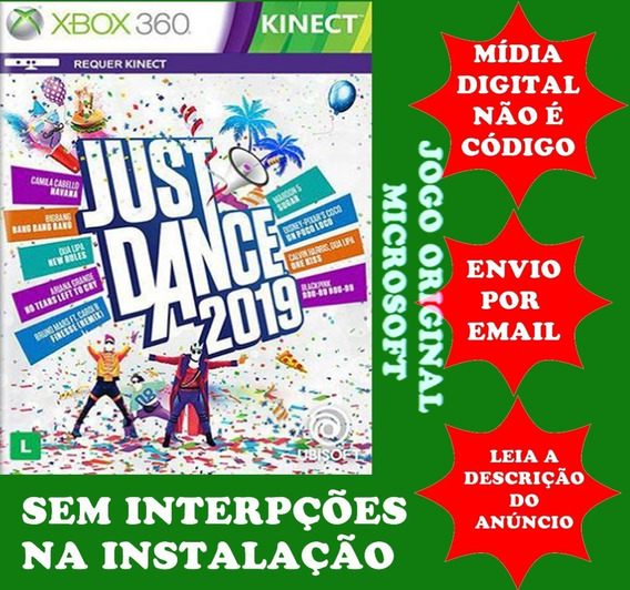 Just Dance 2019 Xbox 360 Midia Digital Original