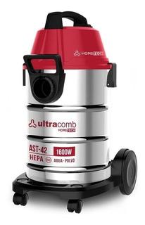 Aspiradora Ultracomb Ast42 42lts 1600w Polvo Agua