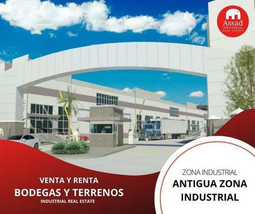 Bodega En Renta-venta / Industrial Warehouse Antigua Zona Industrial