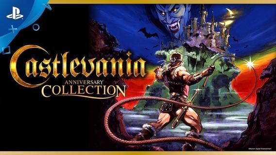 Castlevania Anniversary Collection Ps4 1ª Digital Psn
