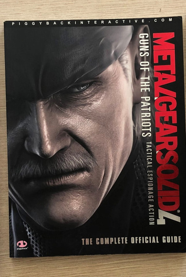 Guia Oficial - Metal Gear Solid 4 (inglês)