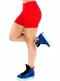 Short Curto Feminino Cintura Alta Fitness Academia Praia