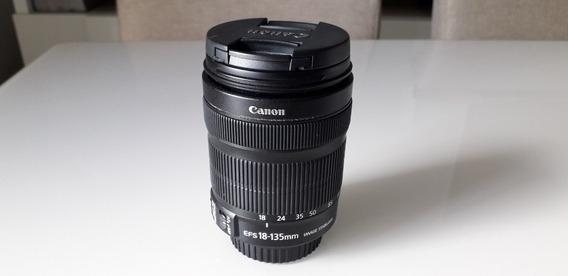 Lente Canon 18-135mm Ef-s Is