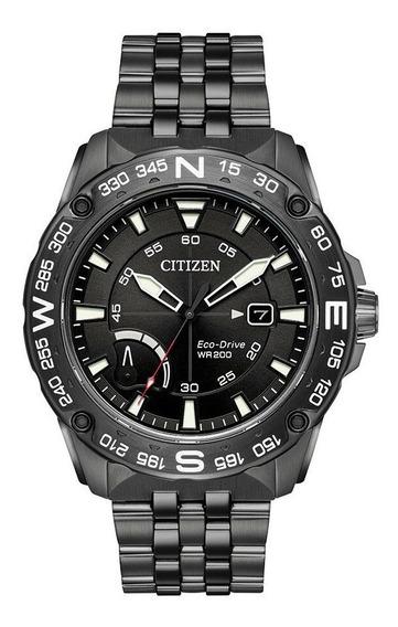 Reloj Citizen Eco-drive Hombre Cronógrafo 44mm Aw7047-54h