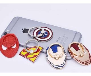 Anillo Soporte Celular Iron Man Superman