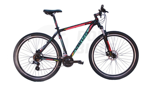 Bicicleta Venzo Skyline 29 21v Frenos Disco Cuota S/ Interes