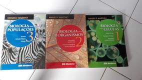 Biologia Amabis E Martho R$80,00 Cada Volume Venda Avulsa #