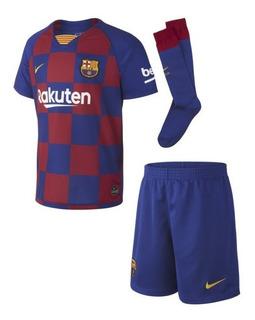 Camiseta Barcelona Niños 2019 2020 Short Medias Messi