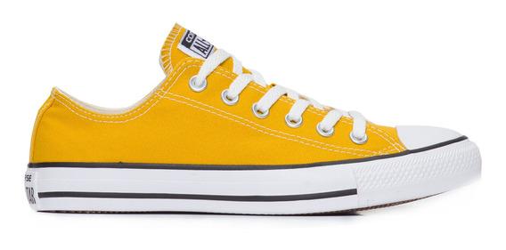 Tênis Converse Chuck Taylor All Star Cano Baixo Amarelo
