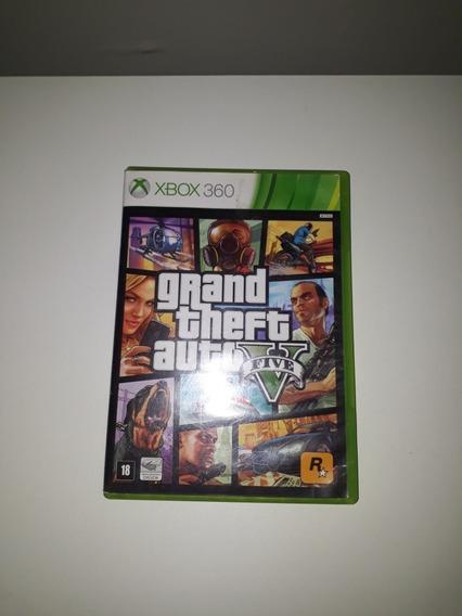 Jogo Gta V Para Xbox 360