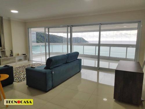 Imagem 1 de 30 de Maravilhoso Apartamento Com 03 Dormitórios Para Venda Com 212 M²  No Bairro Canto Do Forte Em  Praia Grande/sp. - Ap6636