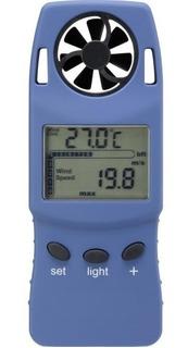 Anemometro Digital De Mano Temperatura Altimetro
