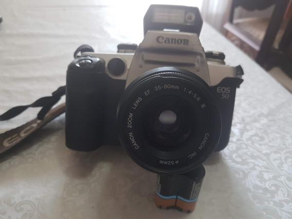 Câmera Fotográfica Eos 50 Canon