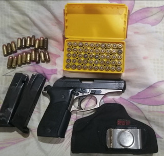 Funda Pistola 380 Bersa Con 59 Municiones