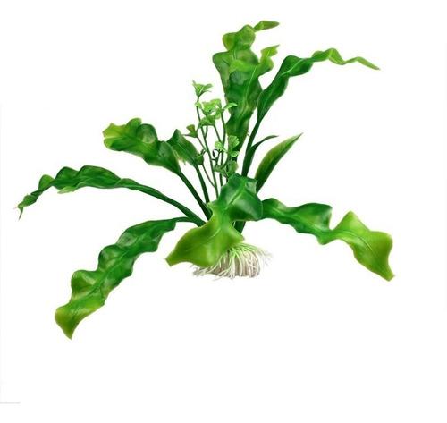 Plantas Acuaticas Peceras Peces Acuario Helecho Artificiales