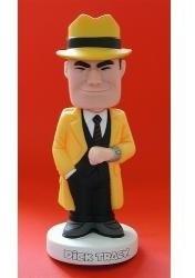 Muñeco Funko Detective Dick Tracy Cabezon Resorte Wacky Kxz