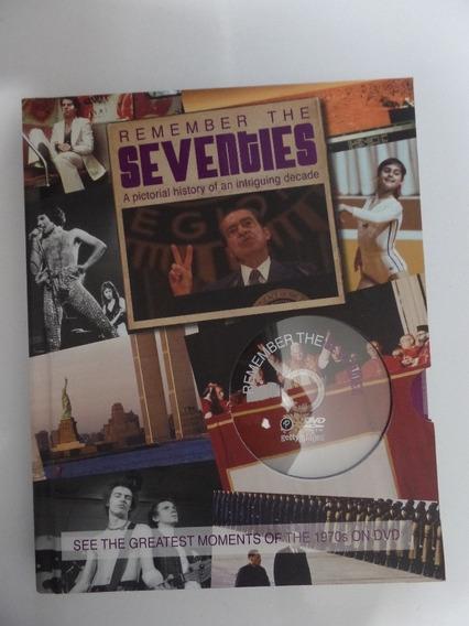 Livro Remember The Seventies Fotografias Com Dvd Novo