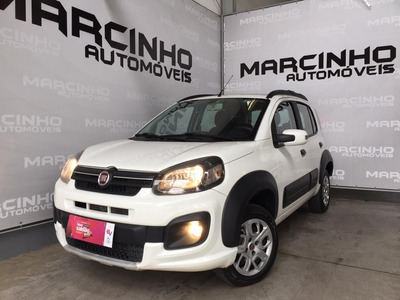 Fiat Uno Way1.0 Flex 6v Completo Financiamos Sem Comp. Renda