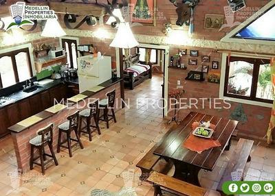 Alquiler De Casa Finca Amoblada En Peñol Cód: 4543