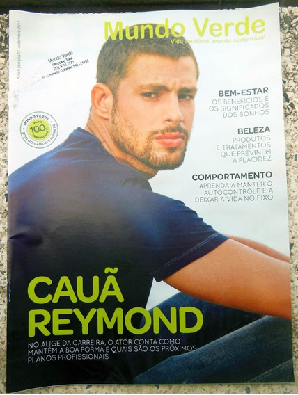 Revista Mundo Verde Nº 17 Cauã Reymond - 2014