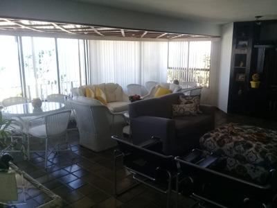 Excelente Apartamento Cobertura Com 5 Quartos Sendo 3 Suítes 400m2 Na Pituba - Lit421 - 4497328