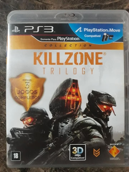 Game Ps3 - Kill Zone Trilogy