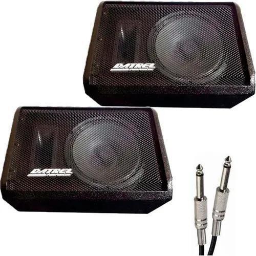 Kit Monitor Retorno Ativo + Passivo Datrel Falante 10 - 400w