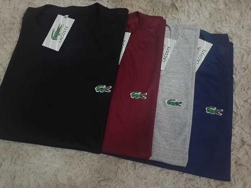 Camisas Camisetas Lisa 100% Algodão Fio 3.1 Várias Cores