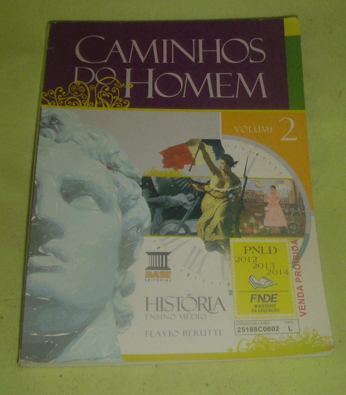 Caminhos Do Homem História Vol. 2 - Ensino Médio