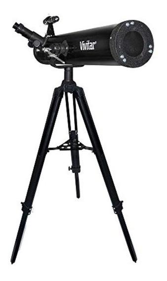 Telescópio Astronômico Refletor 76mm 525x Vivtel76700