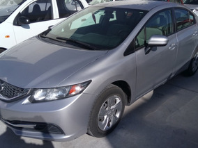 Honda Civic 1.8 Lx Sedan L4 . At 2014