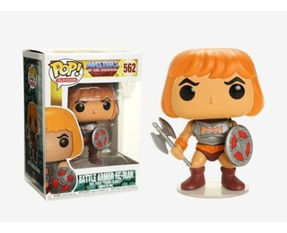 Funko Pop He-man Battle Armor Masters Of The Universe Nuevo