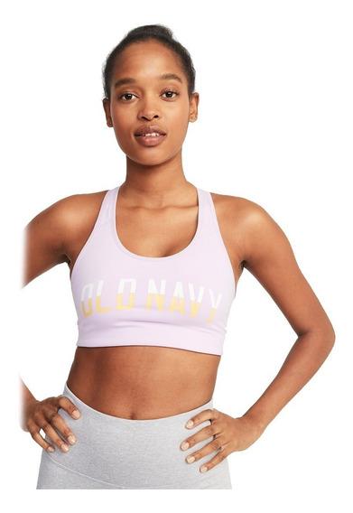 Ropa Deportiva Mujer Top Dama Estampado Logo 863774 Old Navy