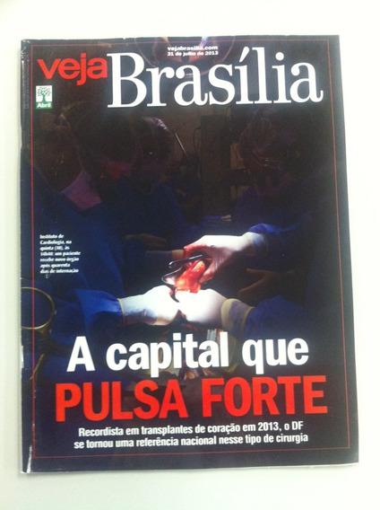 Revista Veja Brasilia Julho 2013 Trasplantes De Coração Df