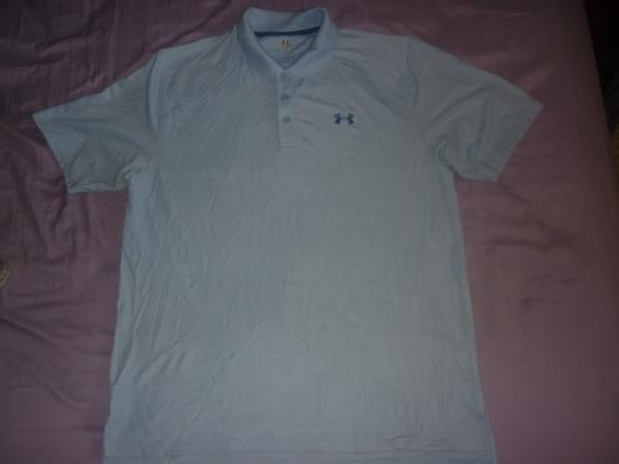 E Chomba Golf Under Armour Talle L Celeste Lisa Art 48811