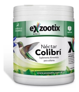 Alimento Nectar Picaflor Colibri Exzootix 300gr