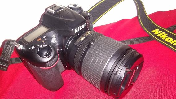 D7100 Nikon + 18-105 Vr Excelente Estado E Funcionando